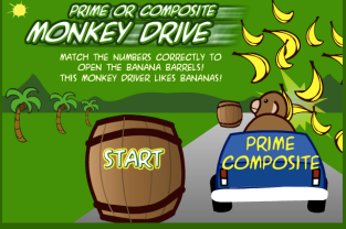Math_Games__Monkey_Drive_Prime_Composite